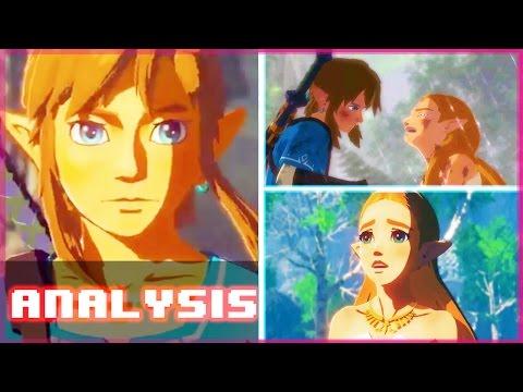 Zelda: Breath of the Wild Nintendo Switch Trailer - Analysis & Secrets!