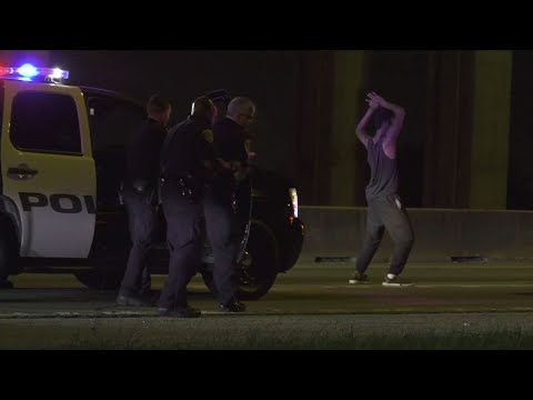 TX Suspect Breaks Out Dance Moves Before Arrest