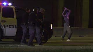 TX Suspect Breaks Out Dance Moves Before Arrest