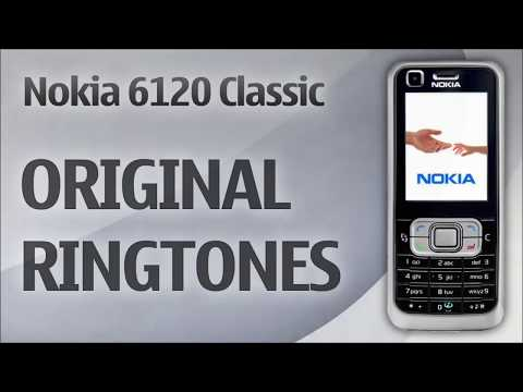 Nokia 6120 Classic Ringtones (Original)  -  Download Link in Description