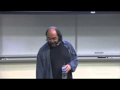 Stanford Seminar - On the Origin of Experience: The Shaping of Sense and the Complex World
