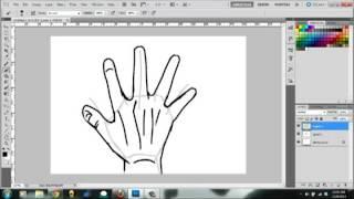 Dibujando Manos (Ejemplo 2)