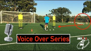 Training Drills With Voice Over Coaching Points | Platinum Members Only | Joner1on1 FootballTraining