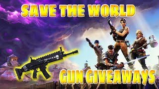 LIVE/ FORTNITE SAVE THE WORLD/FREE LLAMAS XP AND MOREE /GIFT BOXES/GIVEAWAYS
