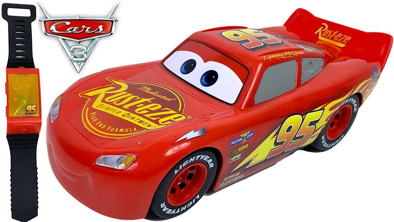 Rayo mcqueen movimietos inteligentes con mando pulsera tipo reloj juguetes de cars 3 disney - Juguetes de cars disney ...