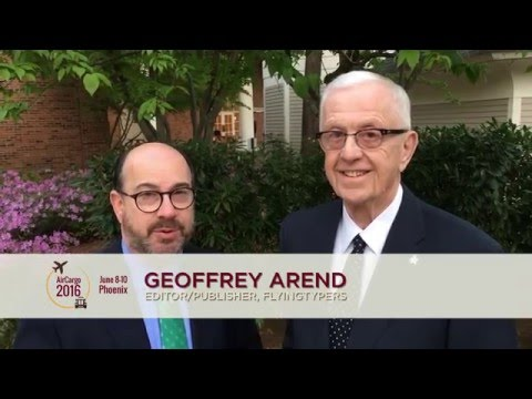 Why Attend AirCargo 2016: Geoffrey Arend