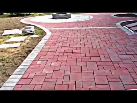 Long Island Patio Amp Fire Pit Youtube