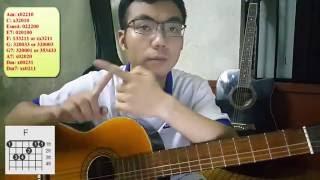[Guitar] Hướng dẫn đệm hát: Làm Dấu - Lm Thiên Ân - Phan Đinh Tùng