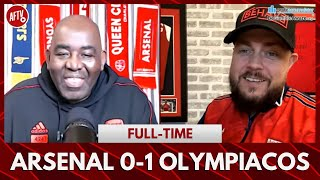 Arsenal 0-1 Olympiacos | Only Spurs Can Make You Smile After A Defeat! (DT)