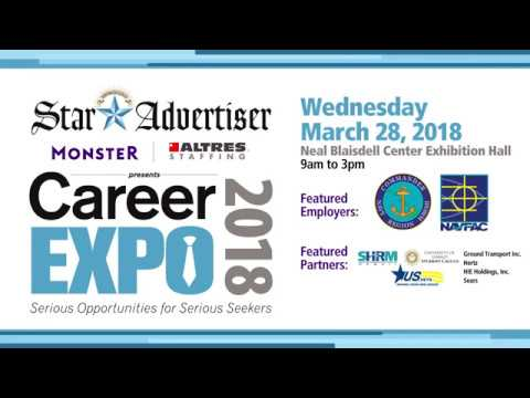 Thousands of jobs available at Hawaii Career Expo March 28, 2018