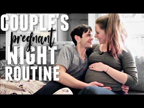 couple's-night-routine-2019-|-pregnant-edition!