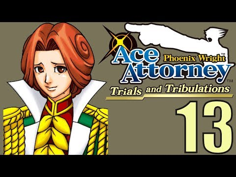 Phoenix Wright Ace Attorney: TaT -13- A Fake or a Thief?
