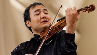 Erzhan Kulibaev plays Wieniawski 2nd Violin Concerto at 14th Wieniawski Competition (Stage 4)