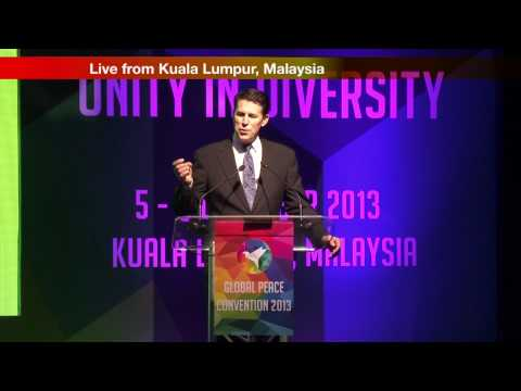 Welcoming Banquest Global Peace Convention 2013