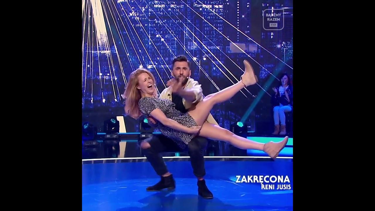 Kaja Paschalska w tańcu z Rafał Maserak [Ale Jazda]