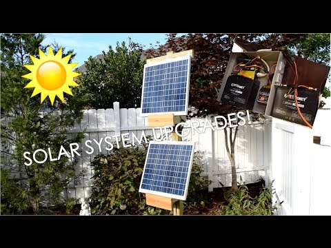 Solar Powered Server Project: Trial System Part 3: Upgrades!