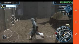 Best settings for assasins creed bloodline's ppsspp