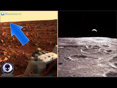 ALIEN Outposts On Moon & Mars? Whistleblower Exposes Nasa Li