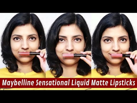 maybelline-sensational-liquid-matte-lipstick-|-review-and-swatches