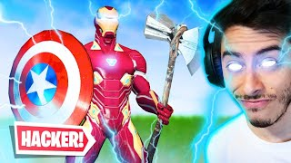 AVENGERS = HACKER! -Fortnite, the