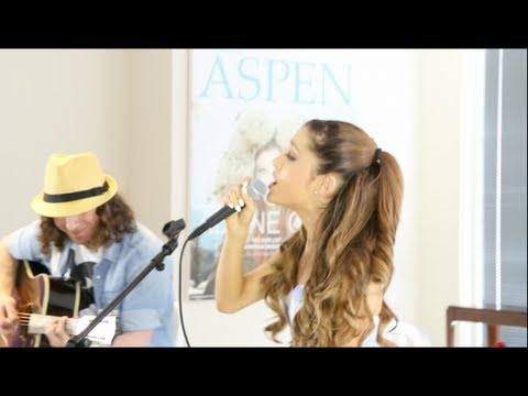 Ariana Grande - The Way & By I acoustic with Dan Kanter