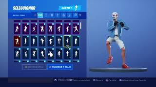 Skin Heist Dancing 118 Gestes Fortnite