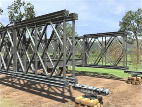Jembatan Baja Mabey type Compact 200  YouTube
