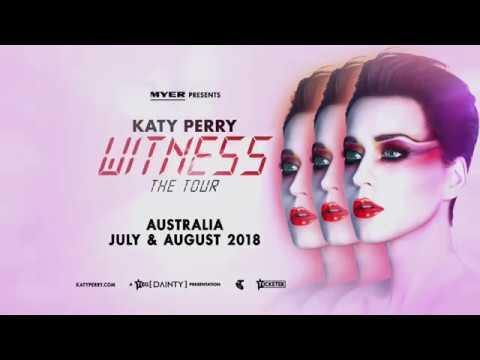 Katy Perry Heading To Sydney August 2018