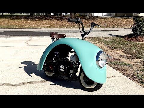 Building a Volkswagen Inspired Mini Bike in 11 Minutes