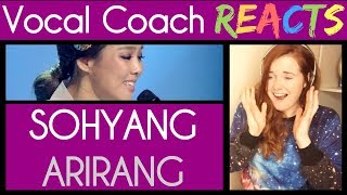 Vocal Coach reacts to So Hyang - Arirang Alone | 소향 - 홀로 아리랑 [Immortal Songs 2]