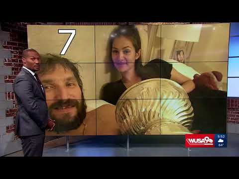 Top 10 Alex Ovechkin Stanley Cup Trophy moments