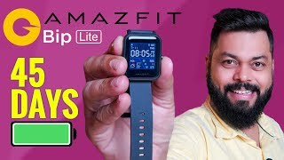 Amazfit Bip Lite Smartwatch Unboxing ⚡ Crazy 45 Day Battery, Just ₹3999/-