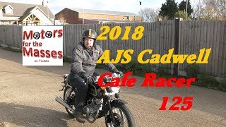 2018 AJS Cadwell 125 Cafe Racer