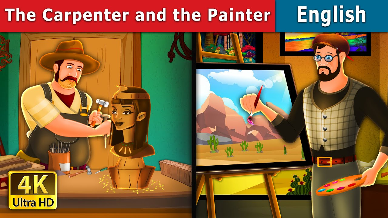 Download The Carpenter and The Painter Story in English | Stories for Teenagers | English Fairy Tales