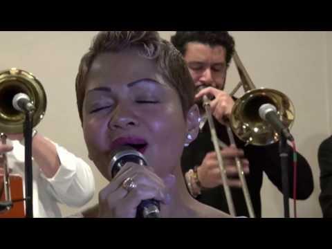 """Nayibe La Gitana"" The Palladium Mambo All   Stars video por Jose Rivera 1:25:2017"
