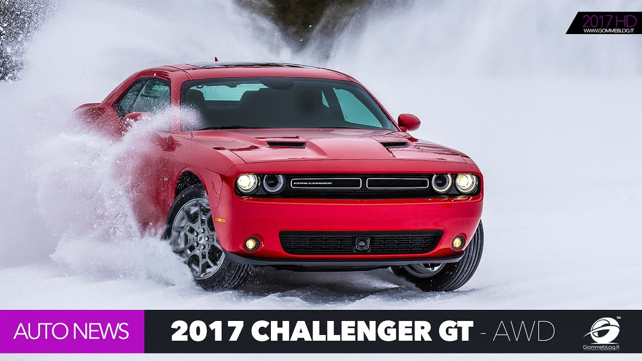 Dodge Challenger V6 0 60 >> 2017 Dodge Challenger GT | V6 305 HP All Wheel Drive Muscle Car - Awesome GT - YouTube