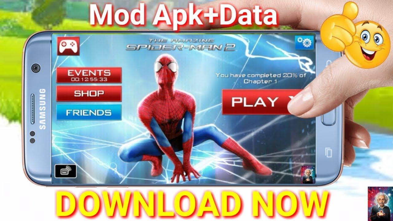 apk mania amazing spiderman 2