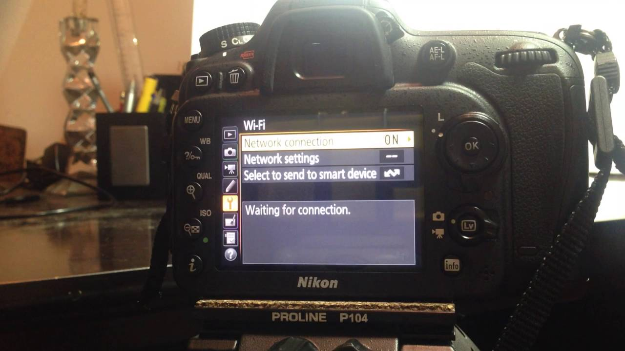 Tether the Nikon D7200 to IOS devices wirelessly