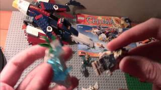 lego legends of chima unrealeased eris fire eagle flyer review full