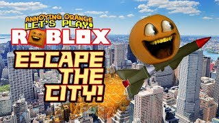 Roblox: Escape the City OBBY! [Annoying Orange Plays]