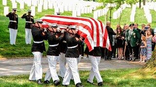 Arlington Full Honors Burial for Tarawa Marine PFC James Bernard Johnson  KIA 11/20/1943