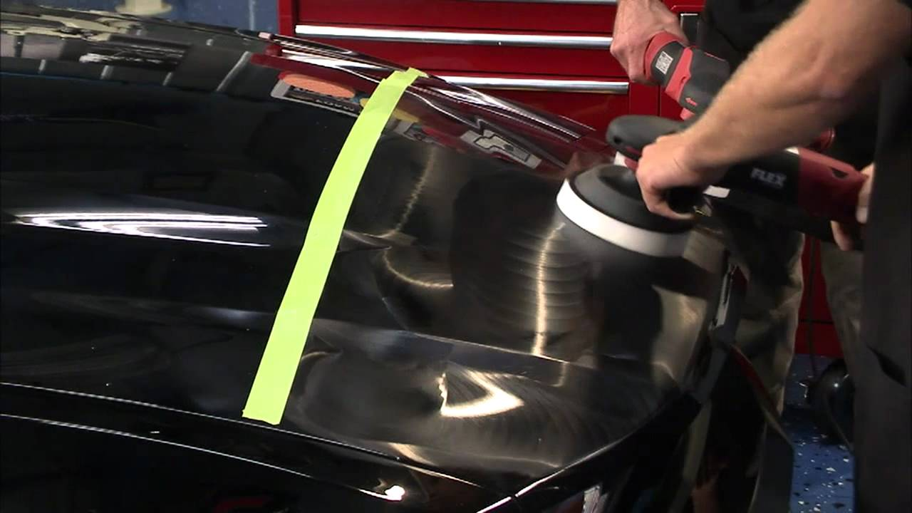 How To Remove Swirl Marks In Black Paint By Hand