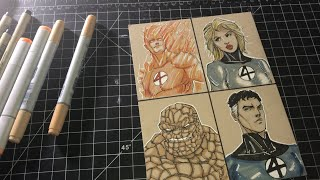 Drawing the Fantastic Four