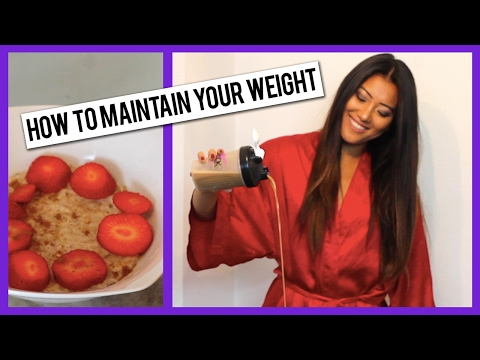 How to Maintain Your Weight: My Tips & Tricks - 동영상