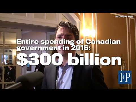 Infrastructure plan is not the biggest in Canadian history