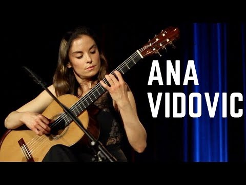 Ana Vidovic plays Granada by Isaac Albéniz on a classical guitar – guitare classique - クラシックギター