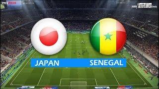 PES 2018 | JAPAN vs SENEGAL | Full Match & Amazing Goals | Gameplay PC