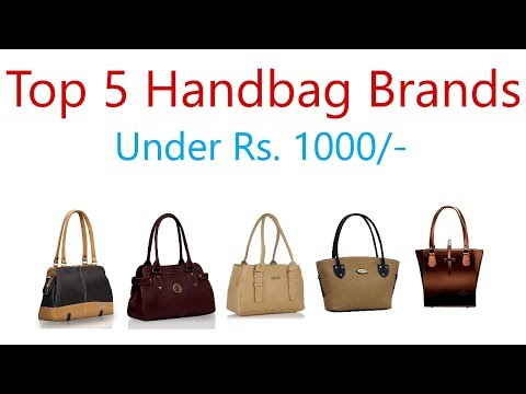 Best Handbag Brands in india under 1000