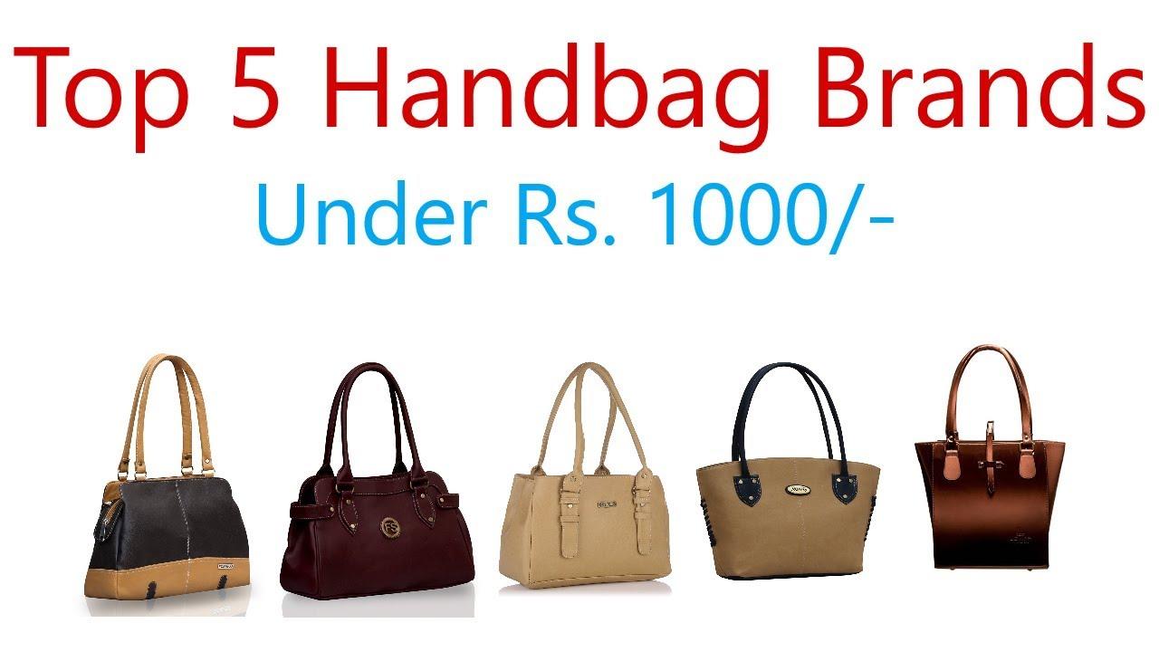 Best Handbag Brands In India