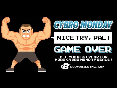 Cyber Monday Supplement Unboxing Bodybuilding Supplement Unboxing